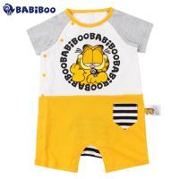 BABiBOO  加菲猫婴儿纯棉短袖连体衣  GDBT601240