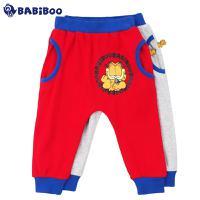 BABiBOO  加菲猫新款男女童棉休闲运动长裤  GDPL601255