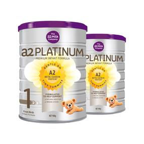 【澳洲直邮|包税包邮】 A2白金系列婴幼儿奶粉1段 900g 2罐装/3罐装 a2 Platinum