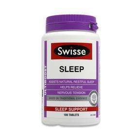 【澳洲直邮|包税包邮】Swisse 睡眠助眠片纯草本100片