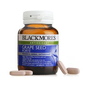 【澳洲直邮|包税包邮】Blackmores澳佳宝葡萄籽精华 30粒