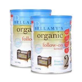 【澳洲直邮|包税包邮】bellamy's贝拉米有机奶粉2段