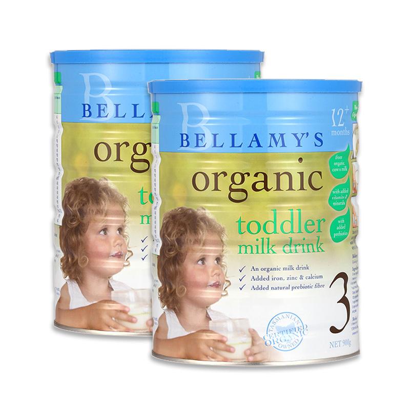 【澳洲直邮 包税包邮】bellamy's贝拉米有机奶粉3段 1-3岁婴幼儿宝宝配方奶粉三段