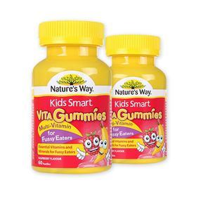 【澳洲直邮|包税包邮】Nature's Way佳思敏儿童复合维生素软糖(挑食+偏食专用)  60粒