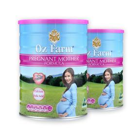 【澳洲直邮|包税包邮】Oz Farm澳洲进口澳美滋产前孕期哺乳孕妇妈妈奶粉含DHA 叶酸900g
