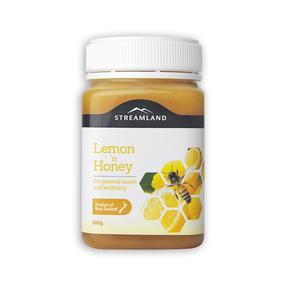 【澳洲直邮|包税包邮】Streamland 纯天然柠檬蜂蜜500g