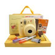 Fujifilm/富士  mini8 維尼熊卡通禮盒 一次成像立拍立得相機