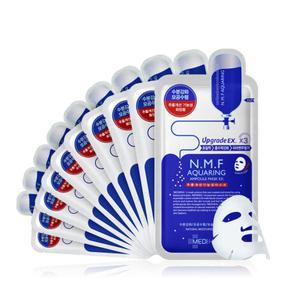 韩国 MEDIHEAL 美迪恵尔 N.M.F针剂水库保湿面膜 10片装/盒   25ml/片   【新版】