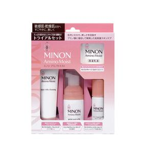 日本  MINON 氨基酸保湿套装 旅行装