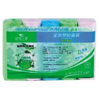 【华师店】寻常人家实惠装加厚五连装垃圾袋(条码:6930007050996)