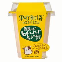 【华师店】巧妈妈香蕉牛奶布甸果冻165g(条码:6948839504389)