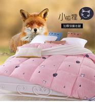 克莉维娅床上用品棉被被芯冬被春秋被羽丝绒学生被子保暖单人双人