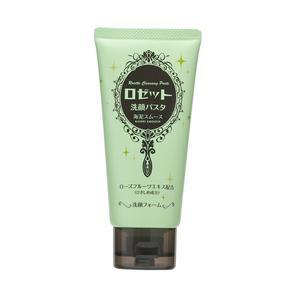 日本  诗留美屋(Rosette) 海泥光洁洗面奶 去黑头细致毛孔洁面乳 (绿色) 120g