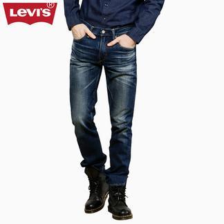 Levi's李维斯日本制造511系列男士修身窄脚水洗牛仔裤04511-1990