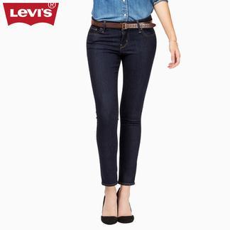 Levi's李维斯700系列女士711紧身小脚水洗牛仔裤19560-0008