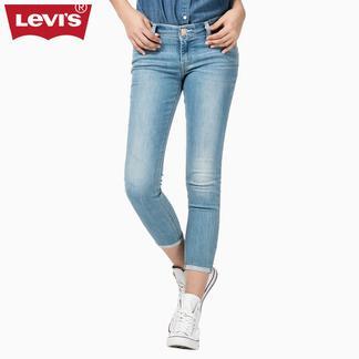 Levi's李维斯冰酷系列女士711紧身九分牛仔裤23948-0001