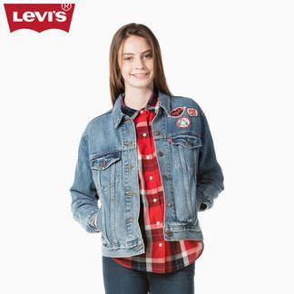 Levi's李维斯新春系列女士水洗牛仔夹克外套29944-0004