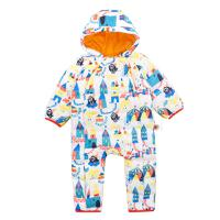 BABiBOO  BOQB692067  婴儿连体衣加厚冬装