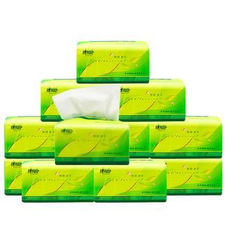 心相印纸巾茶语系列抽纸3层面巾纸130抽12包餐巾纸家庭装软包卫生纸