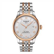 天梭TISSOT手表 力洛克系列机械男表 T006.407.22.033.00间金