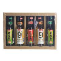 【宜都馆】土老憨 蔬菜鲜酱油桔子醋5瓶礼盒装