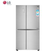 LG GR-M2471PSF 647L 风冷对开门冰箱 线性变频压缩机 门中门 小型内部制冰机 急速冷冻 电脑控温电冰箱