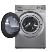 松下(Panasonic)XQG90-E9A2D 9公斤全自动滚筒洗衣机变频 银色