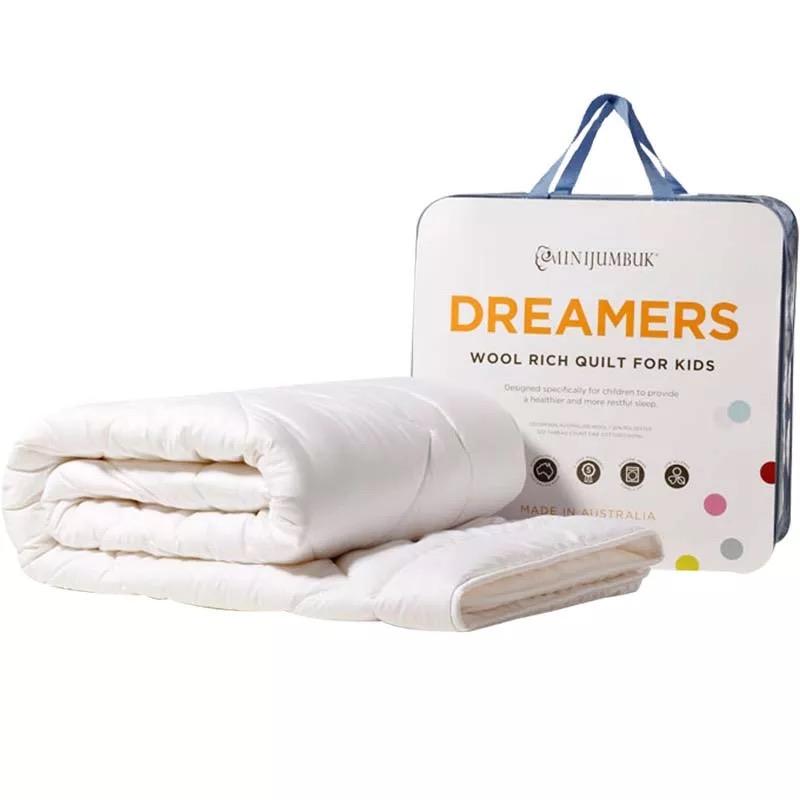 【澳洲直邮|包税包邮】Minijumbuk儿童羊毛被子 澳洲进口儿童床宝宝春秋被