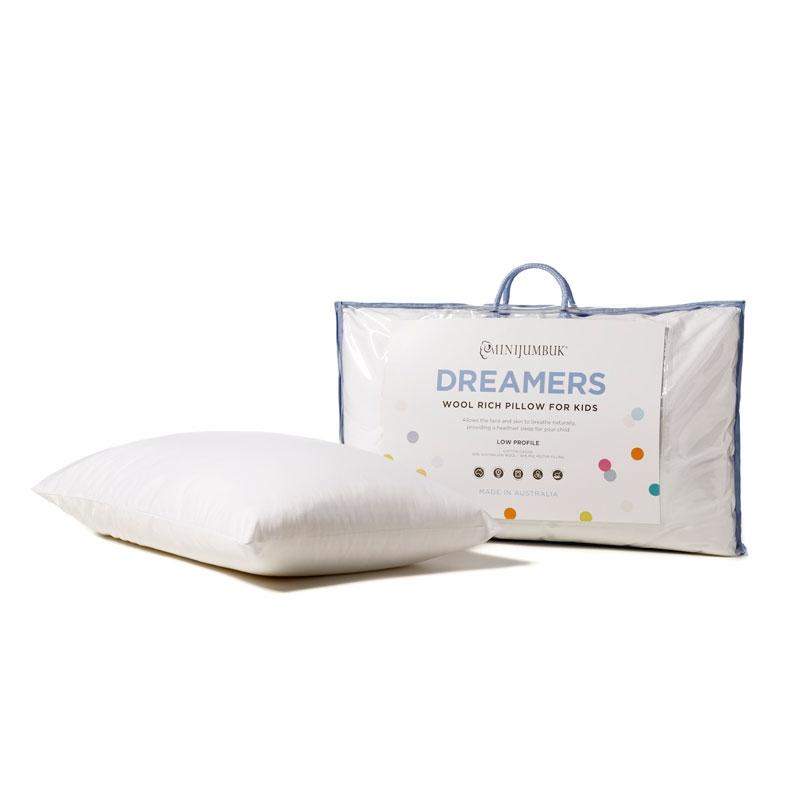 【澳洲直邮|包税包邮】Minijumbuk澳洲儿童枕头小学生幼儿园午睡羊毛枕芯可机洗3-6-10岁