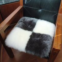 【12月特惠商品】澳世家 羊毛灰白格调坐垫