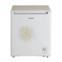 美的(Midea)BD/BC-150KSV 150升 玻璃门体 大冷冻力 家用商用节能冰柜冷柜