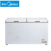美的(Midea)BD/BC-415DKEM 415升 大冷冻力 冷冻冷藏 家用商用卧式大容量冷柜冰柜