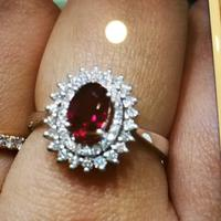 戴维.丹黎红宝石戒指