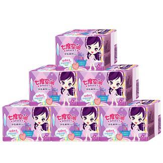 七度空间卫生巾 少女系列姨妈巾6包24片夜用卫生巾