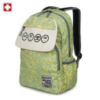 瑞士军刀 时尚背包休闲轻便双肩包初中学生书包旅游电脑包SWK2007