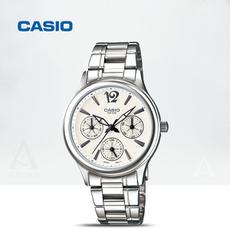 CASIO(卡西欧)指针系列女士手表小三针商务休闲防水LTP-2085D-7A