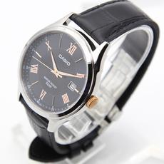 CASIO卡西欧男表腕表 商务休闲简约指针手表MTH-1063L-1A
