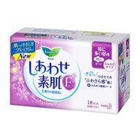 日本花王乐而雅F系列敏感肌超量日用护翼型卫生巾25cm 18片