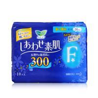 日本花王乐而雅F系列纤巧夜用护翼卫生巾30cm 10片