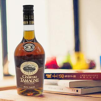 酒庄直供俄罗斯原瓶进口库班沙多塔曼·三年白兰地500ml/支