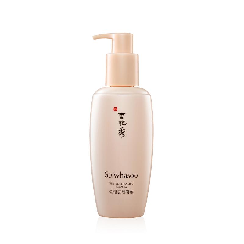 韩国Sulwhasoo雪花秀顺行柔和洁面泡沫200ml 深层清洁 细腻清洁 温和润颜