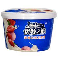 【天顺园店】蒙牛优牧之选草莓口味冰淇淋260g(编码:252619)