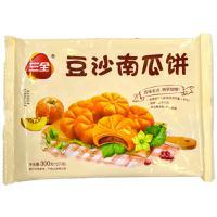 【天顺园店】三全豆沙南瓜饼300g(编码:104726)