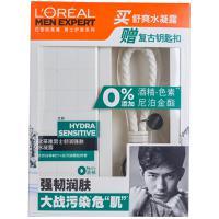 【天顺园店】欧莱雅男士舒润强肤水凝露套装110ml(编码:594733)