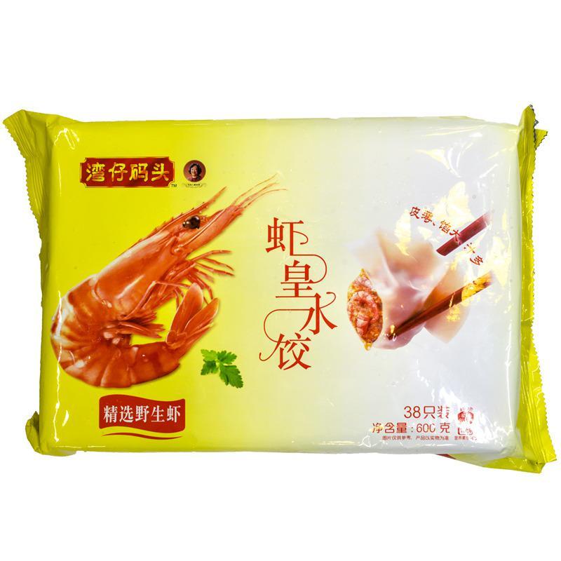 【天顺园店】湾仔码头虾皇水饺600g(编码:573434)