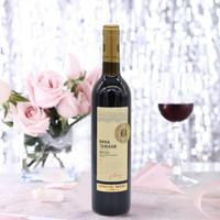 俄罗斯原瓶进口库班美乐红半甜葡萄酒半甜红酒1支700ml