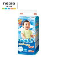 日本进口 妮飘Genki!更祺婴儿宝宝尿不湿/纸尿裤 L码54片
