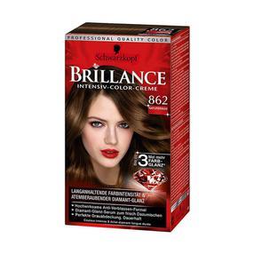 【德国直邮】Schwarzkopf 施华蔻无氨专业染发剂 Brillance 862号自然棕色