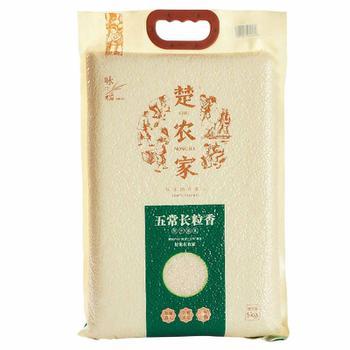 楚农家(CHUNONGJIA)大米 粳米 无添加 (真空包装)五常长粒香5kg