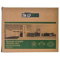 【超级生活馆】顺达韩式复底直身蒸锅SDF-412826CM(编码:465737)